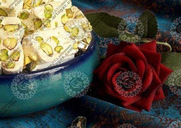 تولید انواع گز اصفهان بصورت کیلویی